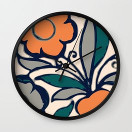 Art Deco Charlotte Rhead Graphic Artwork Wall Clock