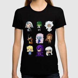 Chibi Heroines Set 1 T-shirt