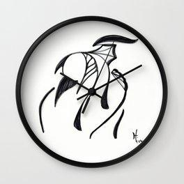 The Humble Warrior Wall Clock