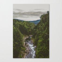 Vermont Mountains Canvas Print