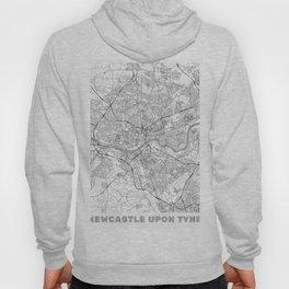 Newcastle upon Tyne Map Line Hoody