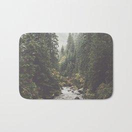 Mountain creek - Landscape and Nature Photography Bath Mat