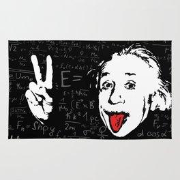 Silly Wisdom - Albert Einstein Rug