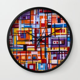 Concealed Mindfulness Wall Clock
