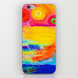 Sunstorm in the Gulf of Mexico iPhone Skin