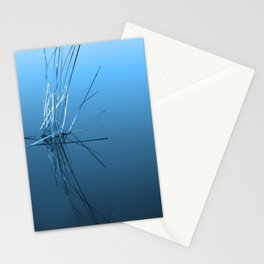 Abstract in blue Stationery Cards