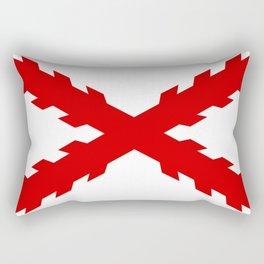 old spain conquistador flag Rectangular Pillow