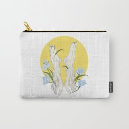 Forget-Me-Not Bones Carry-All Pouch