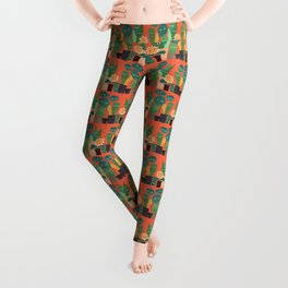 The plants are watching (paranoidos maximucho) Leggings