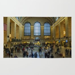 The Grand Central Terminal in NYC Rug
