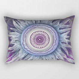 Crown Chakra (II) Rectangular Pillow