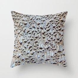 Morning condensation Throw Pillow
