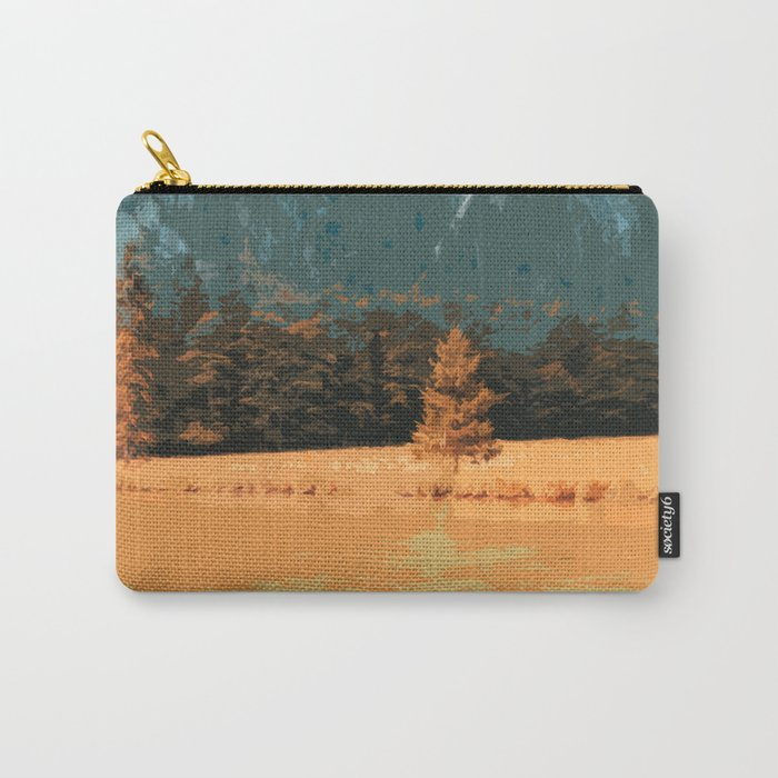 Königssee Orange Sunset Carry-All Pouch