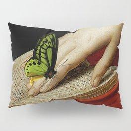 Gentle Reader Cropped Art Pillow Sham
