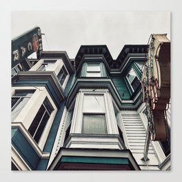 San Fran livin' Canvas Print