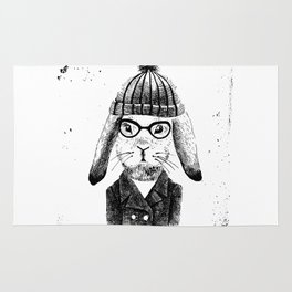 Hiphop Beanie Bunny Top Rug