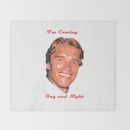 Coming Day and Night Throw Blanket