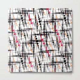 Stylish geometry. Metal Print