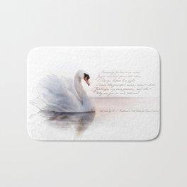 The Swan Princess Bath Mat