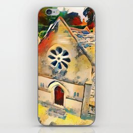 Bourton on the Water Miniature Building iPhone Skin