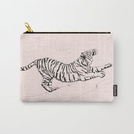 Tiger and Sun I. Carry-All Pouch