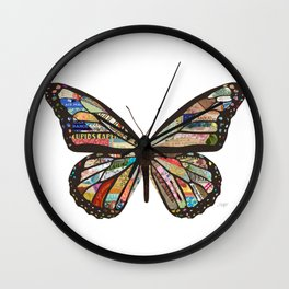 Spread Your Wings Wall Clock