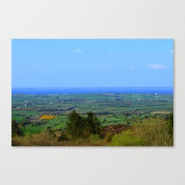 Ladies Brae Mountains Canvas Print
