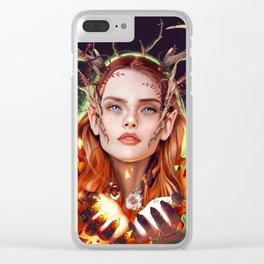 Keyleth Clear iPhone Case