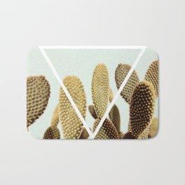 Cactus geometry Bath Mat