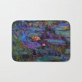 Water Lilies by Claude Monet Bath Mat