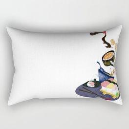 Food of Japan Rectangular Pillow
