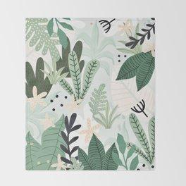 Into the jungle II Throw Blanket