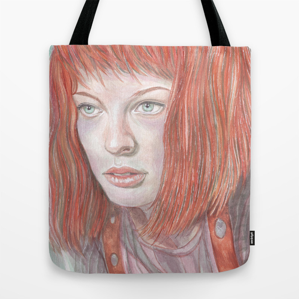 Leeloo - The Fifth Element Tote Bag by Breakthemouldb3 TBG8817740