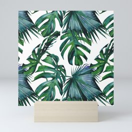 Tropical Palm Leaves Classic Mini Art Print