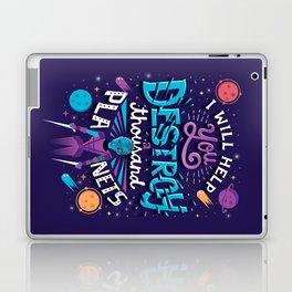 A Thousand Planets Laptop & iPad Skin