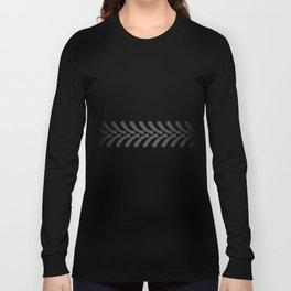 Black Tyre Marks Long Sleeve T-shirt
