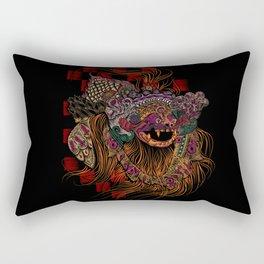 Bali Barong Mask Rectangular Pillow