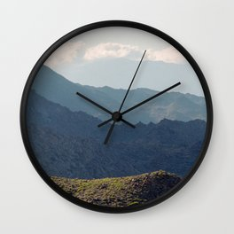 Safe Passage From Palm Springs to Idyllwild Wall Clock