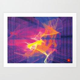 Chaos Dream Art Print