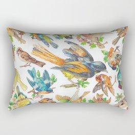 Birds, Birds, Birds Rectangular Pillow
