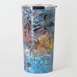 Frozen window Travel Mug