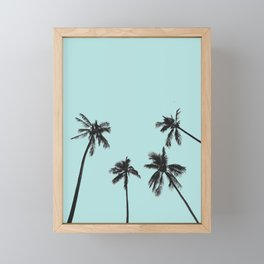 Palm trees 5 Framed Mini Art Print