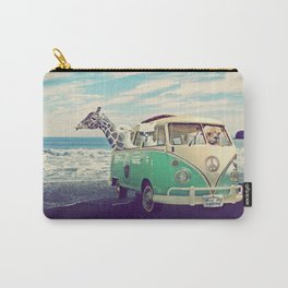 NEVER STOP EXPLORING THE BEACH Carry-All Pouch