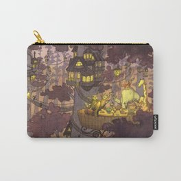 Treehouse Dinner With Animal Friends Carry-All Pouch