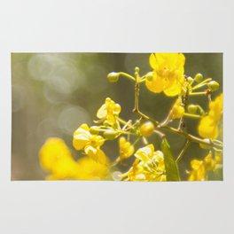 Popcorn Flower Bokeh Delight Rug