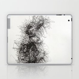King LeBron in Flight! Laptop & iPad Skin