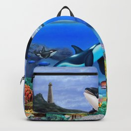 THE ORCA FAMILY Backpack