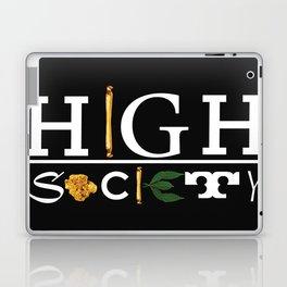 High Society Black Laptop & iPad Skin