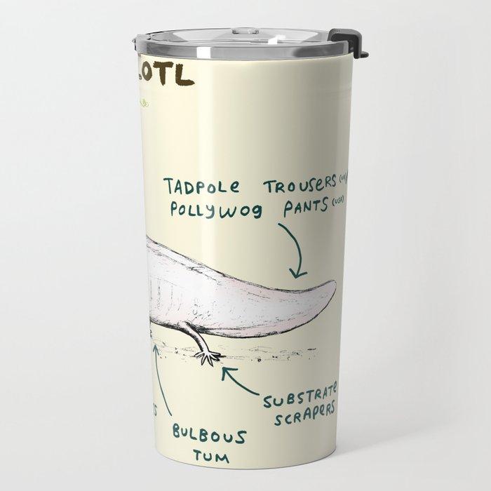 Anatomy of an Axolotl Travel Mug by sophiecorrigan   Society6