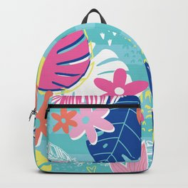 Tropical Preppy Vibes Backpack